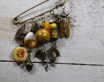 Where are my dreams of yesteryear? pin charms and beads