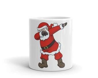 Dabbing Dab Santa Claus Mug - Great Dab Christmas Pose Mug