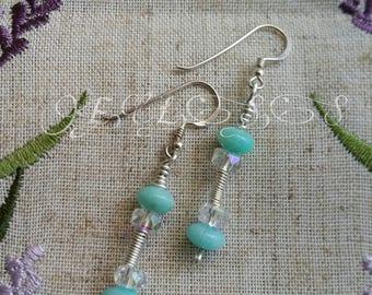 Longline Hook Earrings - Summer Sea