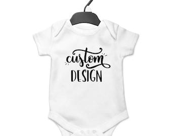 Custom Onesie, Baby Boy, Baby Girl, Baby Clothes, Baby Gift, Baby Shower, Customized, Custom Design