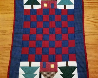 Checker board quilt