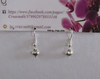 earring type heart B6