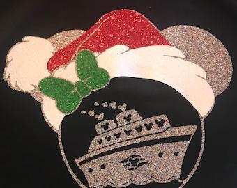 Disney Cruise Christmas Iron On