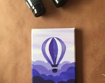 Original Purple Hot Air Balloon