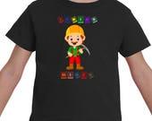 Miner Shirt, Birthday Shi...