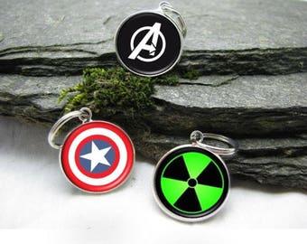 Superhero Charms, Superhero Charm, Superhero Pendant