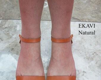 Natural Sandals, Ancient Greek Leather Sandals,sandals, sandales grecques,Sandals Wedding Dresses, wedding shoes, Handmade Sandals, EKAVI