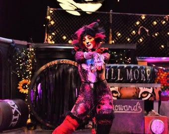 CATS Musical Costume - Bombalurina Wig (Stageworn)