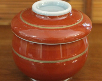 Japanese Rice Bowl with Lid