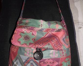 Ethnic style shoulder bag