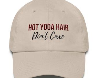 Funny Yoga Cotton Baseball Cap