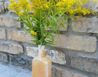 Cream City Brick Glazed Antique Style Medicine Bottle