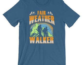 Fair Weather Walker Spartees  Cotton Tee Short-Sleeve Unisex T-Shirt