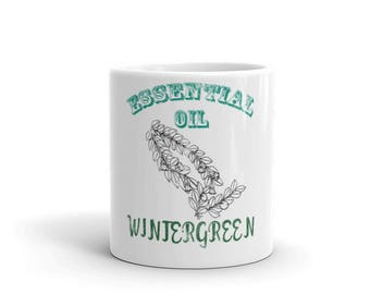 Essential Oil Wintergreen Mug