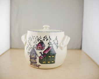 Home & Garden Party U.S.A. Cookie Jar Bird Houses