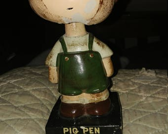 Vintage PIGPEN BOBBLE HEAD