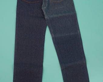 Vintage 70s Wrangler Cowboy Cut Jeans 27x30 - Deadstock