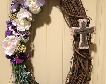Easter Wreath - Celebrate The Risen Lord