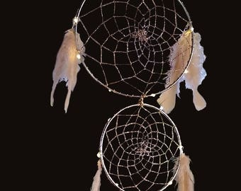5 Ring Dreamcatcher with LED lights