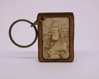 """Keychain """"Mona Lisa"""""""