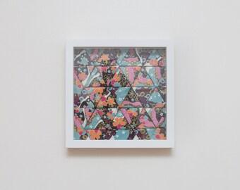 Origami Tessellation Flowers