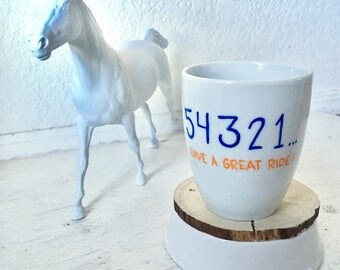 Custom Color Eventing Mug | startbox eventing horse event