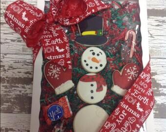 Snowman Buttercream Cookie Boxed Set