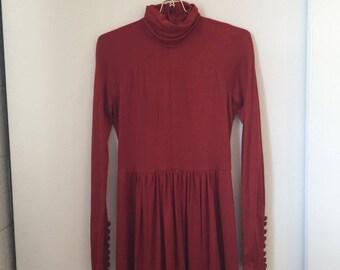70's Maxi Formal Dress
