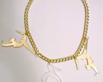 Acrobats Necklace