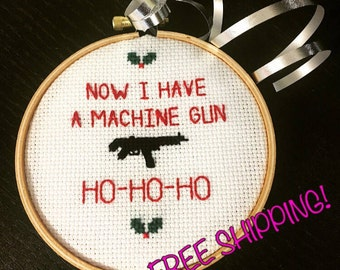 Die Hard Ornament