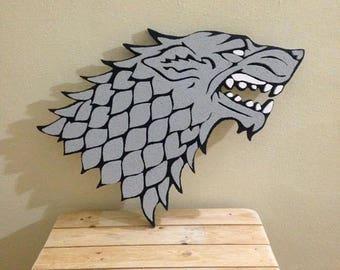 Metalupo Stark - Game of Thrones