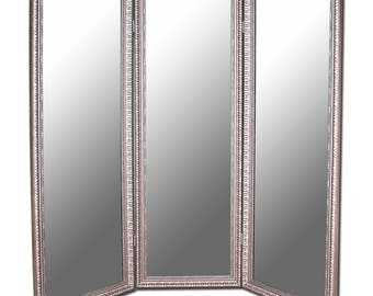 Arrivabene Three-Paneled Room Dividing Mirror