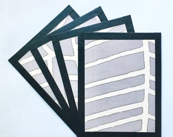 Graphic Postcards - Set of Four
