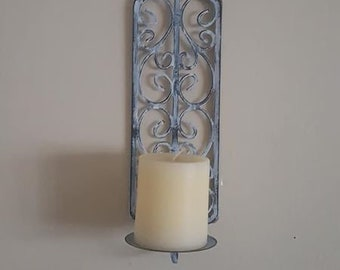 Wall Sconce, candle holder, Shabby Chic, Wall decor, Wall hangings, home decor,