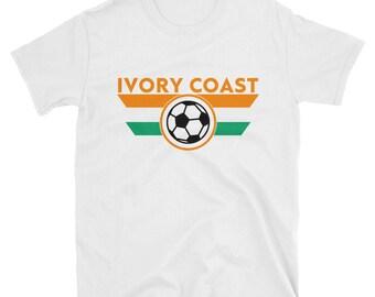 Ivory Coast Soccer World Cup Shirt Les éléphants