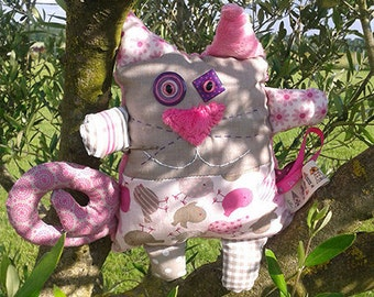 Toy - cat Mitoune