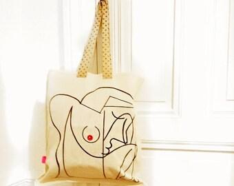 Tote Bag the Acrobat