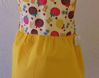 My little yellow lollipop dress