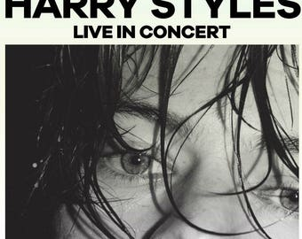 Chicago Harry Styles Live on Tour Custom Poster PDF