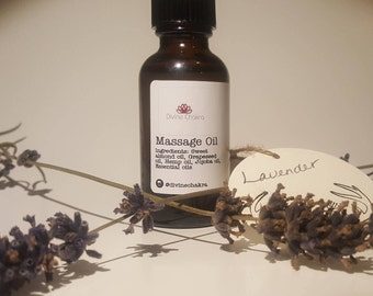 Massage Oil - Lavender