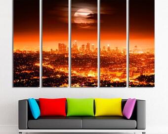 Los Angeles, Los Angeles print, Los Angeles photo, Los Angeles art, Los Angeles canvas, Los Angeles poster, Los Angeles decor, Canvas art