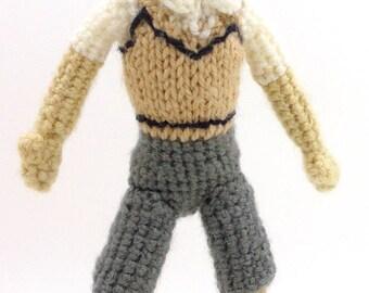 Joe (Digimon Adventure 01) - Handmade crochet original design doll