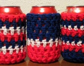 Patriotic Can Koozies - Pack of 5
