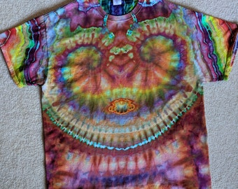 XL Tie Dye Smiley Face T-Shirt