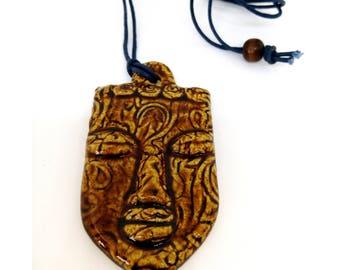 Handmade Ceramic pendant