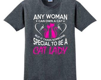 CUSTOM CAT T-SHIRT, Cat, Personalized T-Shirt, Gift For Cat Lover, Custom Tees, Cat Mom, Gift For Her, Kitten, Pet Owner