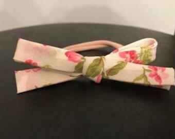 Floral Bias Tape Bow
