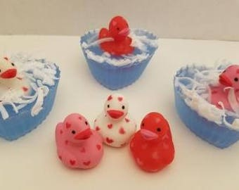 Valentine's Duckies Bathtime Soap