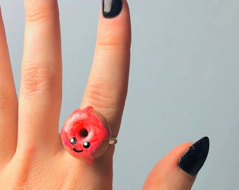 Cute Doughnut Ring