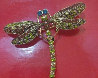 Brooch small dragonfly